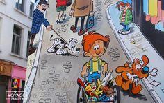 Un parcours BD à Bruxelles pour visiter la ville de manière insolite en famille ! - VOYAGE FAMILY