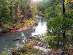 """The Ouachita National Recreation Trail stretches 223 miles through the beautiful Ouachita Mountains of Arkansas & Oklahoma. The ""Ouachita Trail"", as it is more commonly known, runs from Talimena State Park in Oklahoma, through Queen Wilhelmina State Park & ends at Pinnacle Mountain State Park, near Little Rock, Arkansas."""