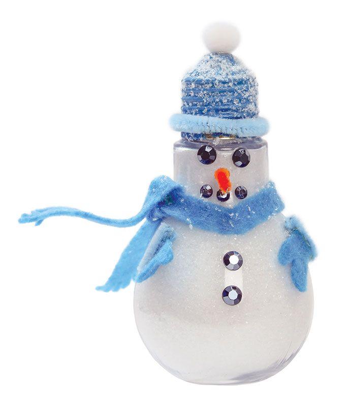 Nicole™ Crafts Bulb Snowman - AC Moore