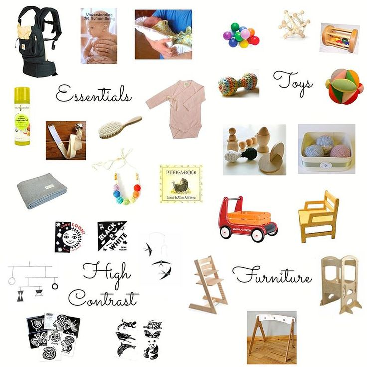 Montessori Baby Gift Ideas (I would be pleased with any of these things....so durable and functional and lovely!)