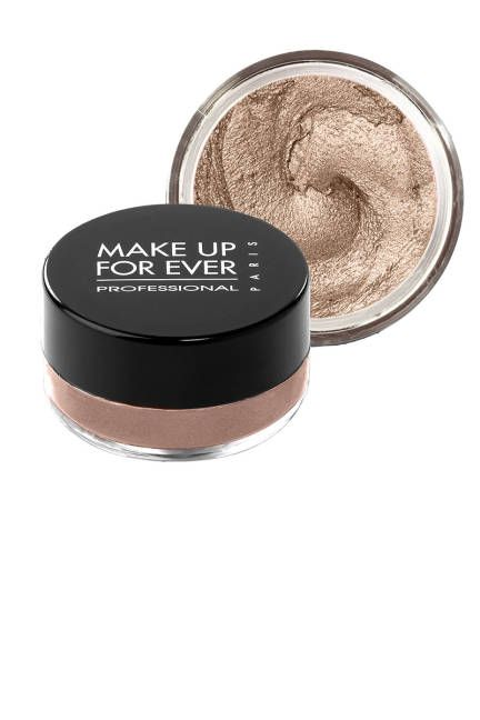 Best Sweat Proof Makeup - The Eye Shadow Make Up For Ever's pigment-soaked cream shadow won't smudge no matter how soggy the weather is. It's even a favorite of Olympic synchronized swim teams around the world. (If that doesn't confirm its impervious effects, what does?)