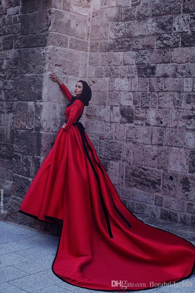 Vistoso Partido Vestido Rojo Bandera - Vestido de Novia Para Las ...