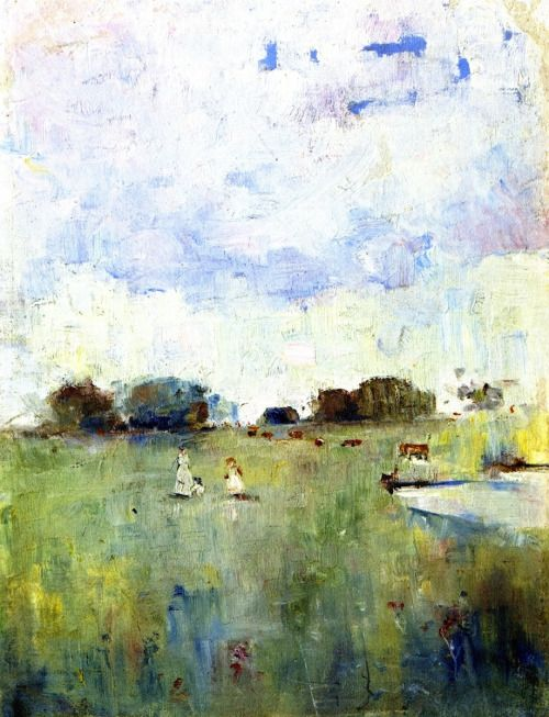 A Grey Day - Charles Conder