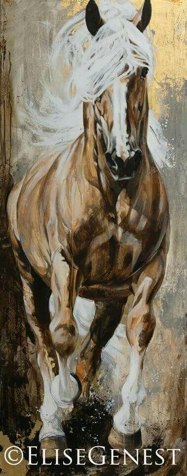 Golden Genest horse palomino