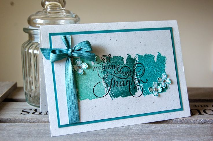 UK Independent Stampin' Up! Demonstrator - Julie Kettlewell: Million and One Thanks