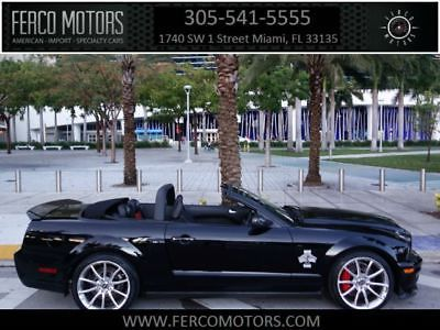eBay: 2008 Ford Mustang Convertible 2008 Ford Shelby GT500 Super Snake Convertible 9,365 Miles Black CONVERTIBLE 2-D #fordmustang #ford