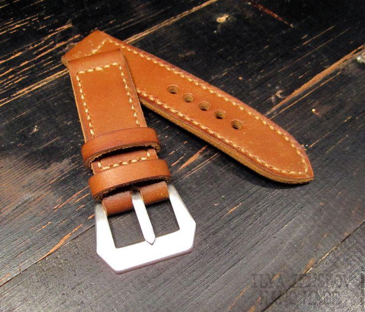 Купить Ремешок для часов Panerai - коричневый, ремешок для часов, ремешок для часов panerai, для часов