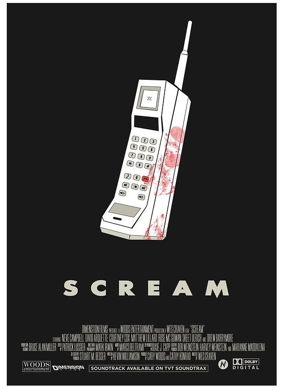 SCREAM | movie poster by Mainger