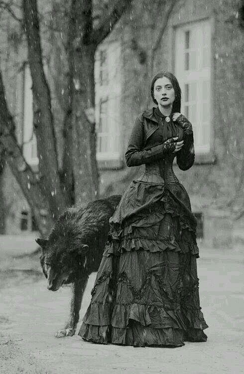 Many are hounded by a Black Dog, but a true Wolf stalked her heart, and it was forever at her heels.