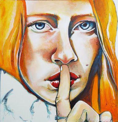Angela Menzies Art: Whispers