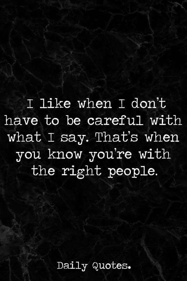 You should always try and make an effort to be careful. Sometimes words hurt and you never know what's on someone's mind. It's a respect thing.