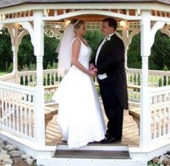 #justmarried #gazebo #ceremony #anthonyslakeside