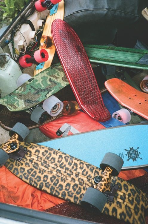 I will have a penny board soon, to skate back and for to uni :D