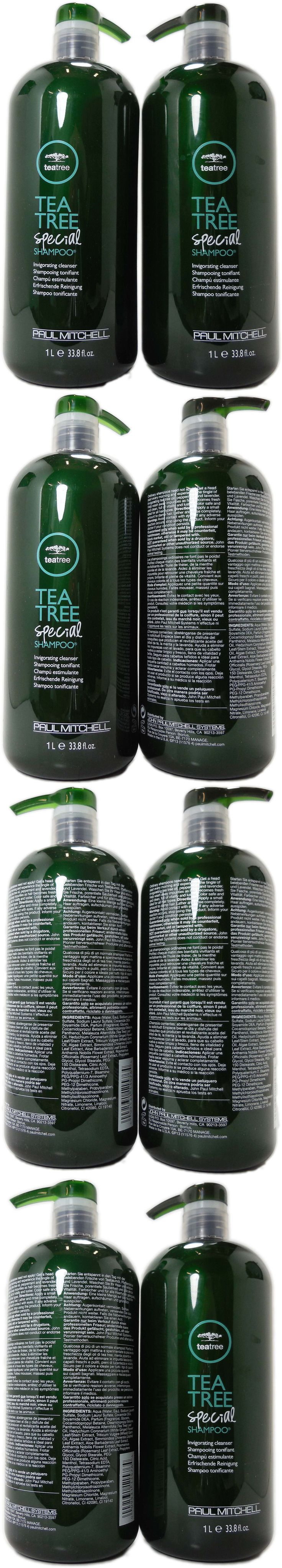 Shampoos and Conditioners: Paul Mitchell Tea Tree Special Shampoo Liter 33.8Oz Each Pack Of 2 -> BUY IT NOW ONLY: $59.71 on eBay!
