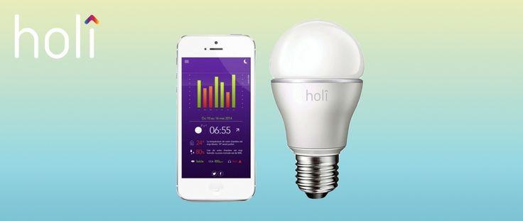 Holî Sleep Compagnon, l'ampoule connectée pour améliorer le sommeil