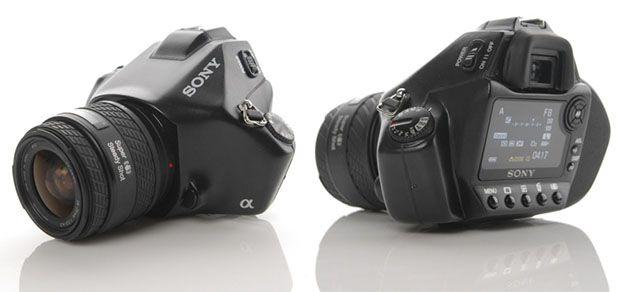 Sony a352 Concept DSLR Camera Design