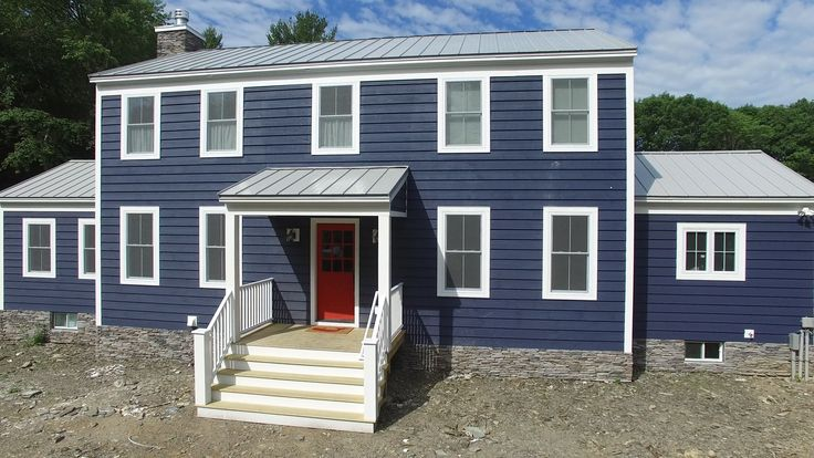 Cabot Newburyport Blue Semi Solid Stain Siding