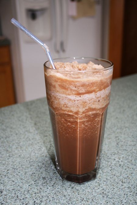 Homemade mocha frappe recipe (Weight Watchers friendly)