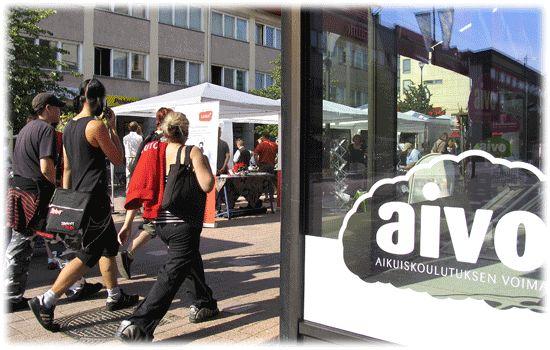 #aikuiskoulutus AIVO - Aikuisopiskelun tieto-, neuvonta- ja ohjauspalvelut - Aikuiskoulutuksen voimaa yhden katon alta