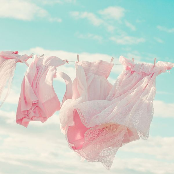 Pink Dresses In The Wind :)
