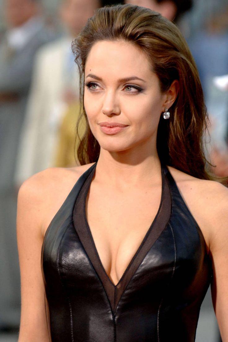 Angelina Jolie Makeup - Angelina Jolie Photos - Harper's BAZAAR