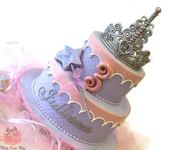 Lavender Princess Birthday Cake