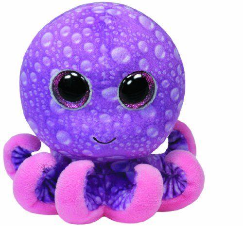 Ty Beanie Boos Legs Purple Octopus Regular Plush TY Beanie Boos http://smile.amazon.com/dp/B00HQDIK06/ref=cm_sw_r_pi_dp_uAEStb1RCM99XMC5