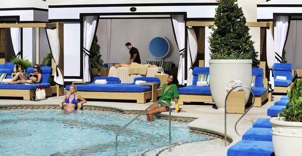 7 best rumor pool las vegas images on pinterest for Garden of gods pool oasis