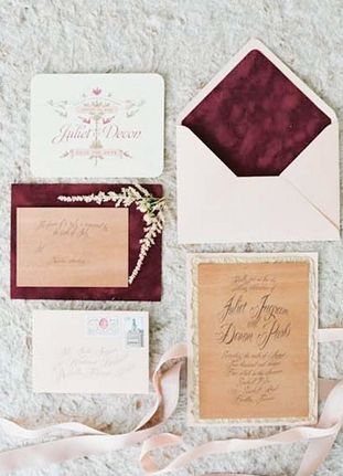 For weddings, Marsala works really nicely with blush and gray tones like
