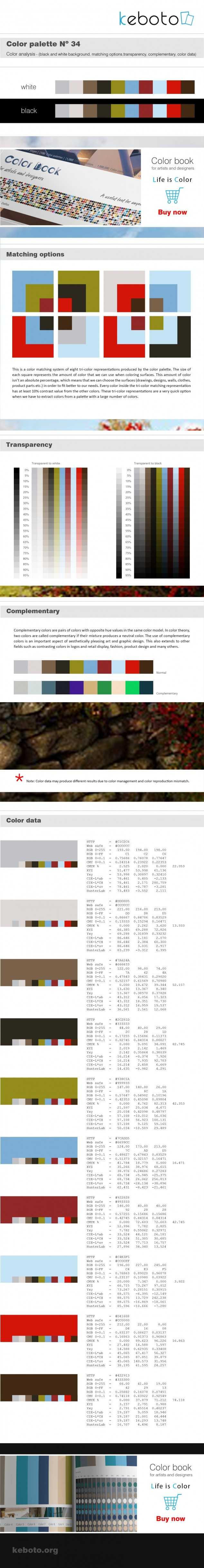 Keboto - Color Palette Νο34