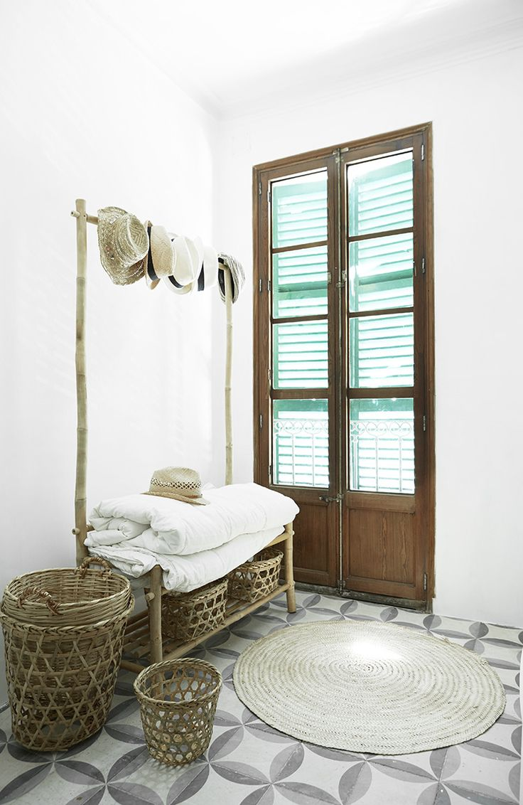 Inside+a+Rustic+Mallorca+Apartment+With+a+Scandinavian+Twist+via+@MyDomaine