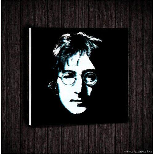 "Постер на холсте ""Кумиры. Джон Леннон (The Beatles)"""