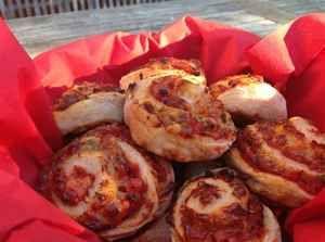Nemme pizzasnegle til madpakken 4