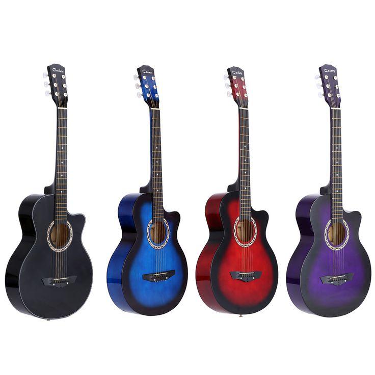 38 akoestische folk 6 string gitaar voor beginners studenten gift musical instruments in 2019. Black Bedroom Furniture Sets. Home Design Ideas