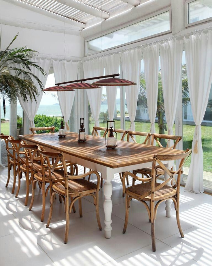 149 best Tropical dining rooms images on Pinterest | Dining room ...