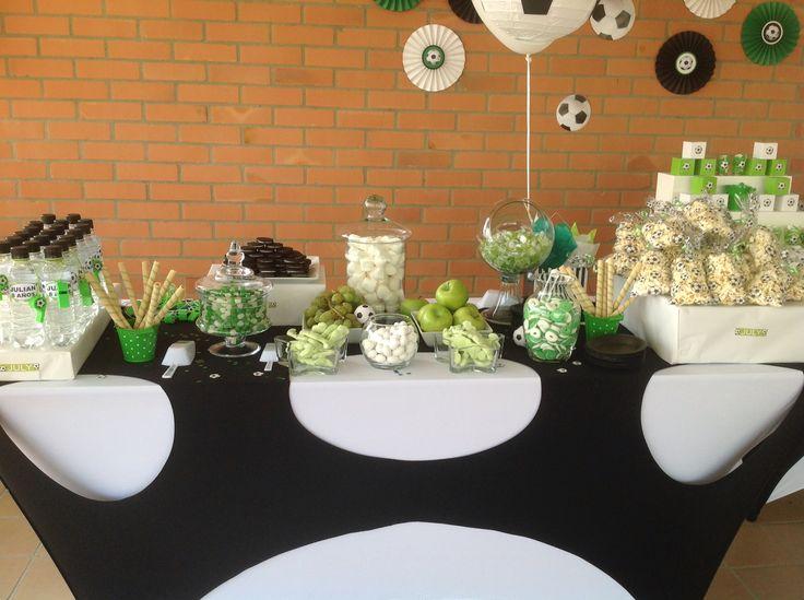 Soccer party Fiesta de fútbol  Soccer candy bar