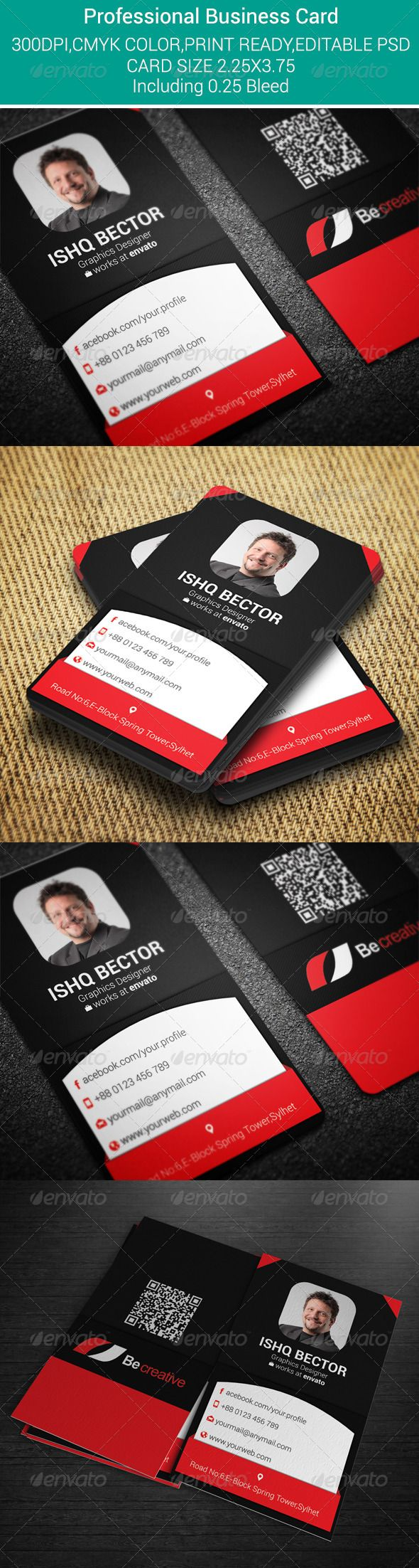 Vertical Professional Business Card | Download: http://graphicriver.net/item/vertical-professional-business-card/7546598?WT.ac=category_thumbWT.z_author=Tanishqbdref=ksioks