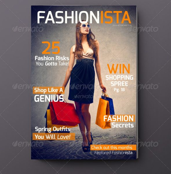 Fashionista Magazine Issue 2 — InDesign INDD #fashionista #template • Available here → https://graphicriver.net/item/fashionista-magazine-issue-2-/6951973?ref=pxcr