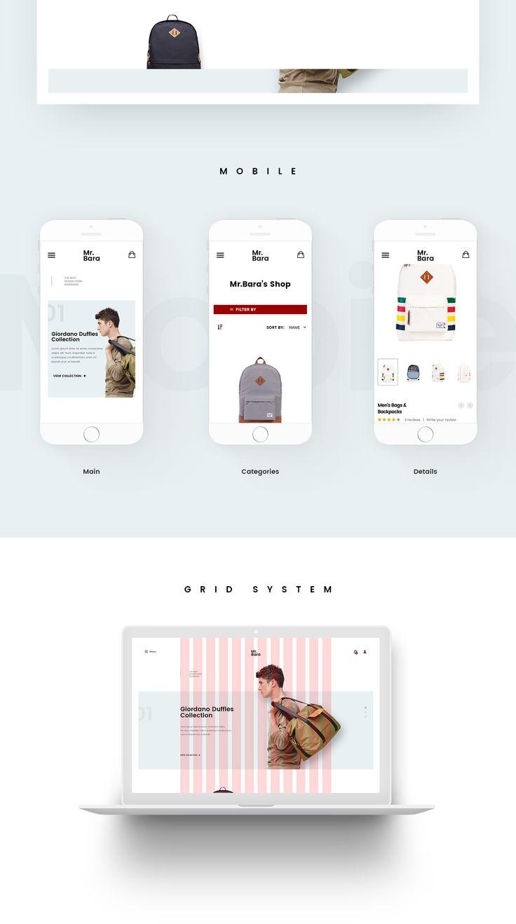 Mr.Bara Backpack Store Concept on Behance