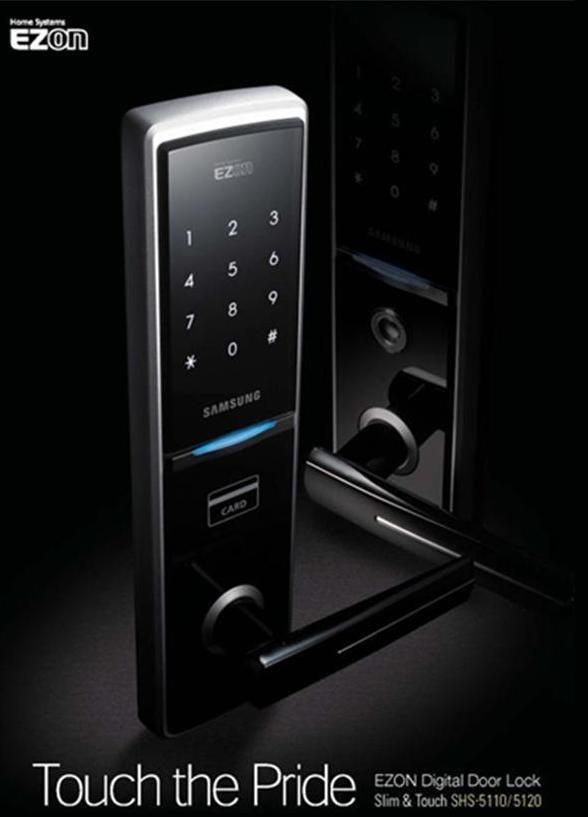 Samsung SHS-5050 Residential Door LockCerraduras Samsung, Shs 5120Xmkln, Samsung Shs, Clave Digital, Residential Doors, Doors Knobs, Digital Doors, Doors Locks, Locks Shs3320