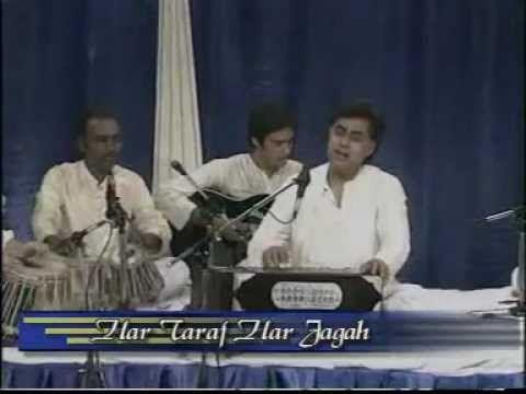 Har taraf har jagah beshumar aadmi LIVE HQ Nida Fazli Jagjit Singh post HiteshGhazal - YouTube