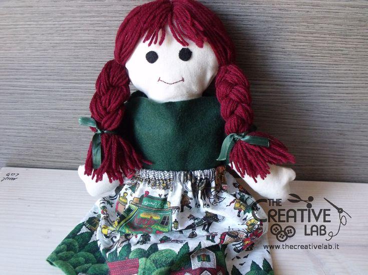 Tutorial gratuito per realizzare la Pigotta la famosa bambola di pezza dell'Unicef