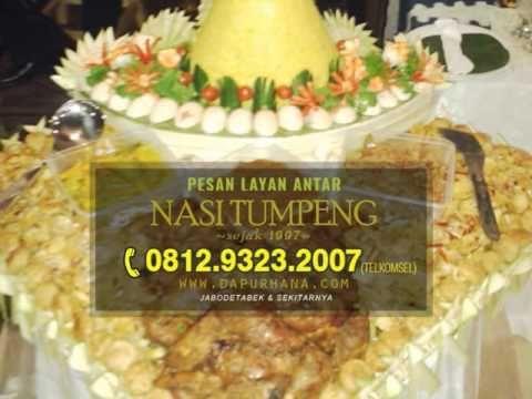 WA 081293232007 | Pesan Tumpeng di Bekasi, Nasi Kuning Tumpeng - Dapur Hana Catering - YouTube