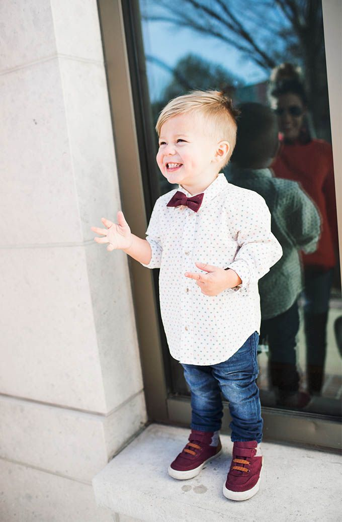 Kids Holiday Bow Tie #OldNavy