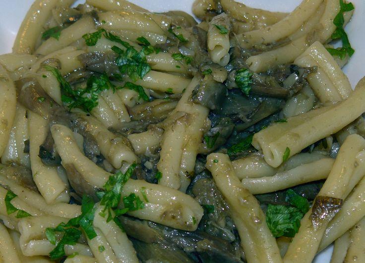 Pasta e Carciofi - http://cucinasuditalia.blogspot.it/2010/04/pasta-e-carciofi.html