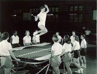 professional trampoline jumper