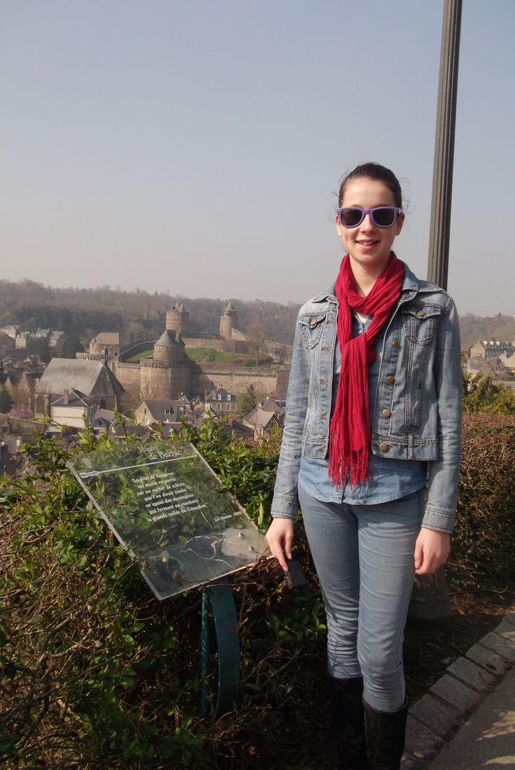 visite  a  Fougères  Activités Culturelles : Découverte de la région où se déroule le séjour.( Le Mont St Michel, Fougères, St Malo, questionnaire en anglais pour chaque visite).