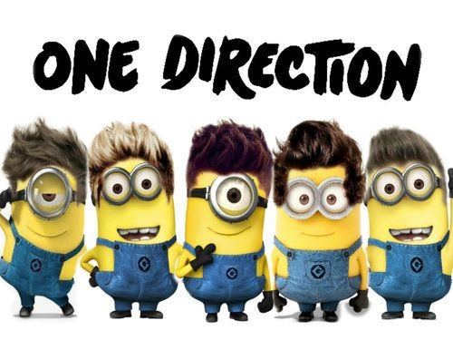 One direction Minions!!!! :D <333