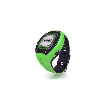 Pyle Sports Multi-Function LED Sports Training Watch with GPS Navigation with Ant+ and E-compass (Green Color)