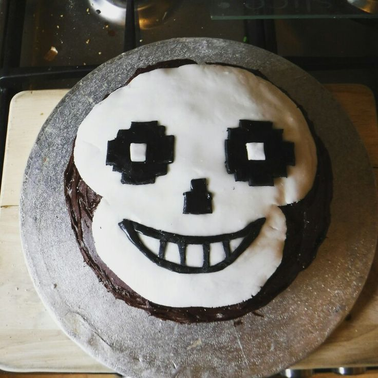 Undertale character cake